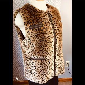 Terry Lewis Classic Luxuries Faux Fur Vest